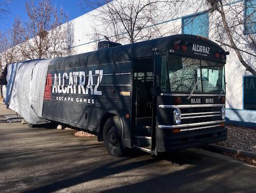 Alcatraz Escape Games Prison Bus Escape Review Room